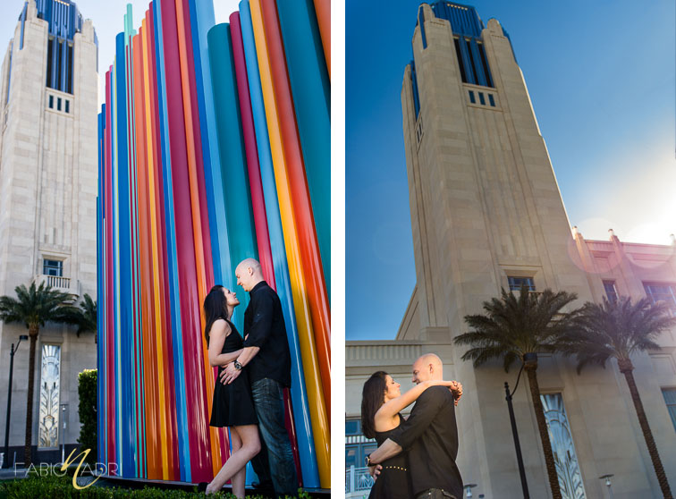 Smith Center engagement photo