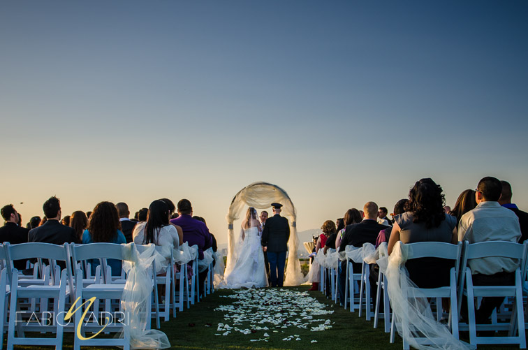 Revere Golf Club wedding ceremony