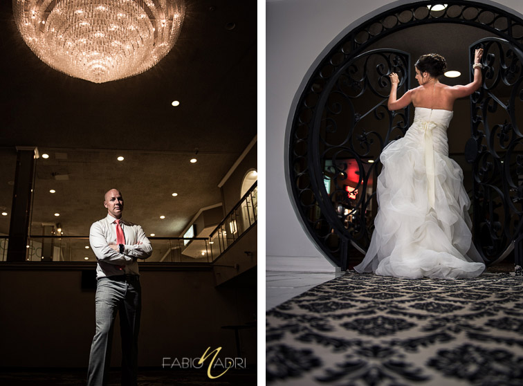 Bride groom photo Plaza hotel Las Vegas