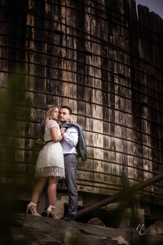 Nelson ghost town elopement photo
