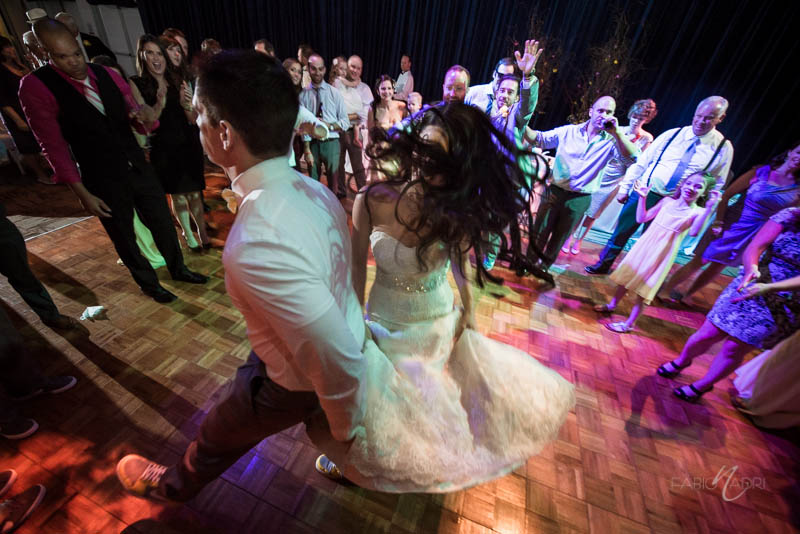 Bride groom dance floor