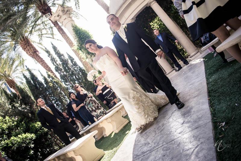Wedding ceremony  venus garden caesars palace