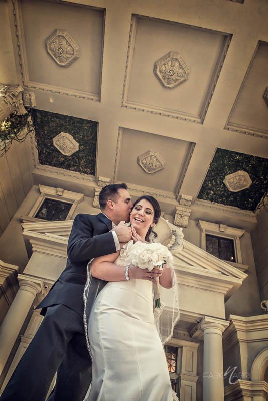 Bride groom caesars palace