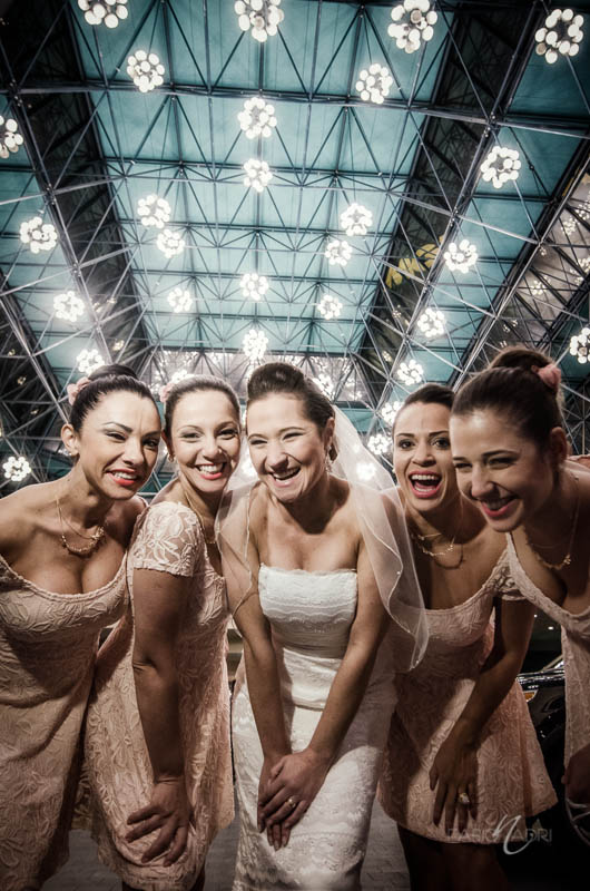 Bride bridesmaids MGM Grand