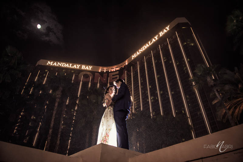 Engagement photo Mandalay Bay