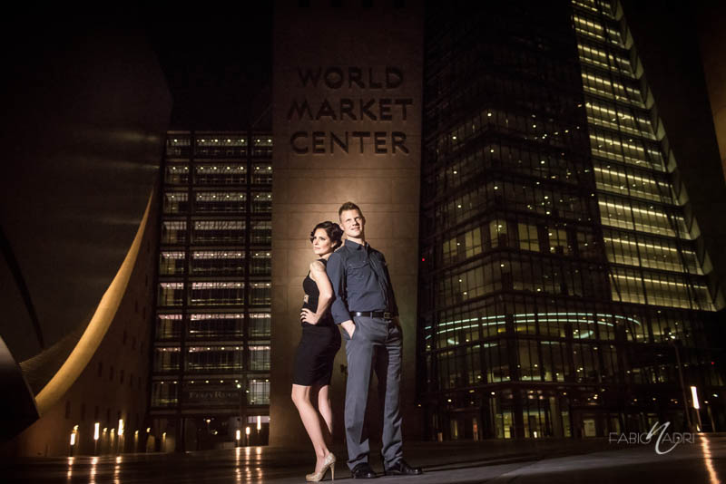 World market center couple fashion photo