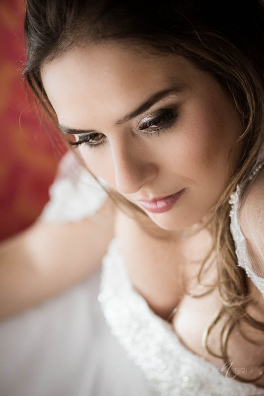 Bride portrait Mirage