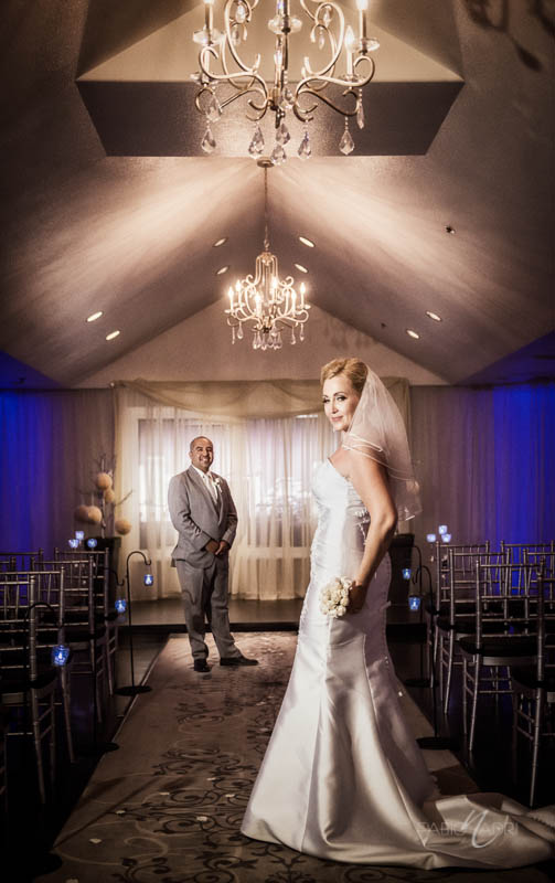 Wedding photo Silver Sky Chapel at Quad