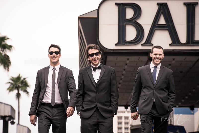 Groom groomsmen Ballys Las Vegas