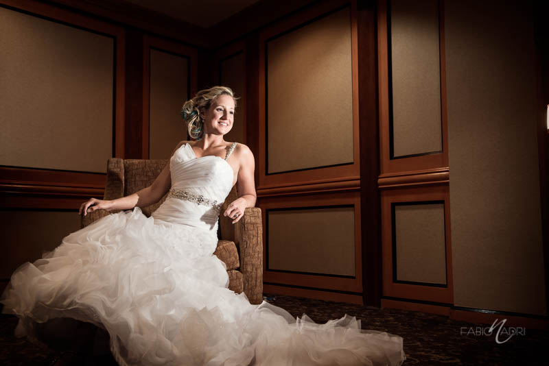 Las Vegas Country Club Bride photo