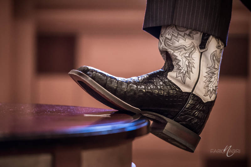 Las Vegas Country Club groom boots