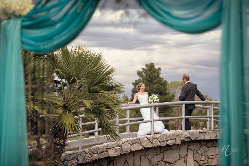 Las Vegas Country Club Bride Groom