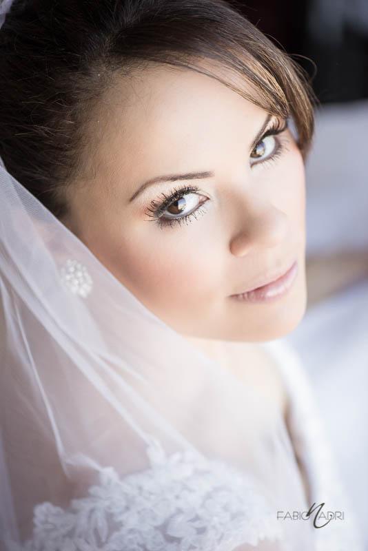 Bride beauty portrait