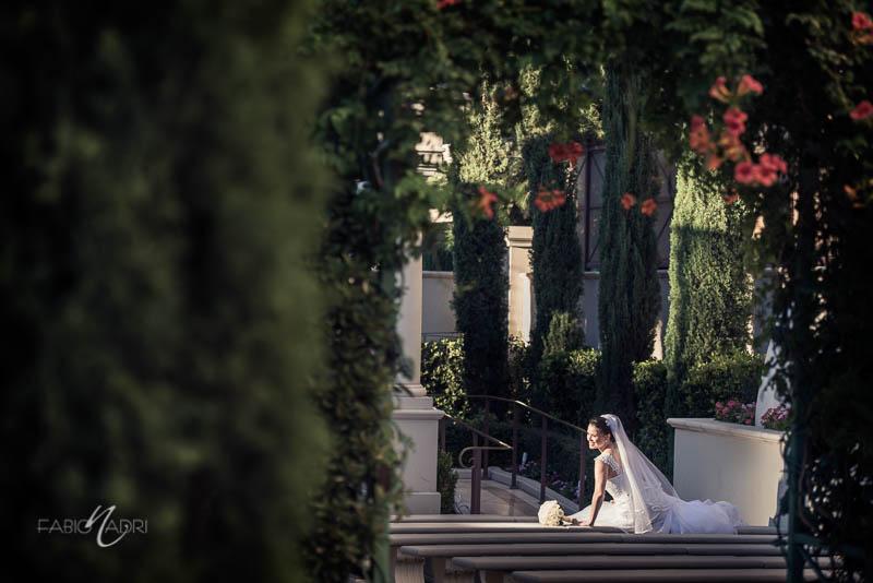 Juno Garden Caesars Palace bride photo