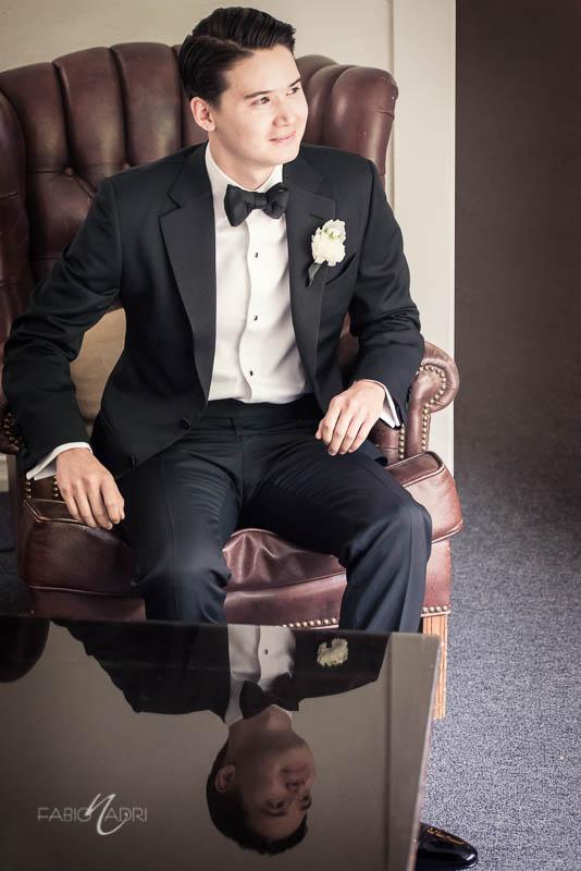 La Venta Inn Wedding groom photo