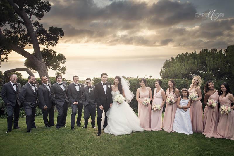 Bridal party photo La Venta Inn