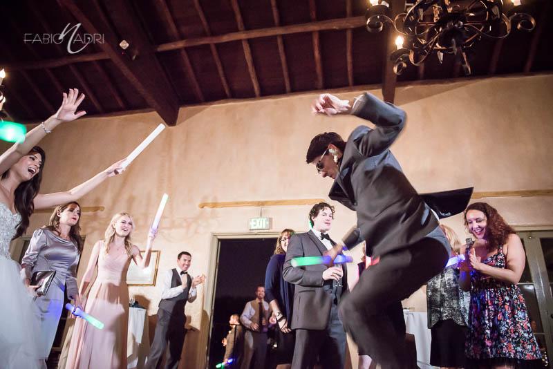 La Venta Inn dance floor glow sticks