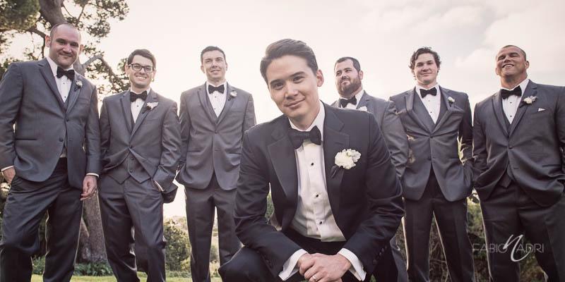 Groom groomsmen La Venta Inn