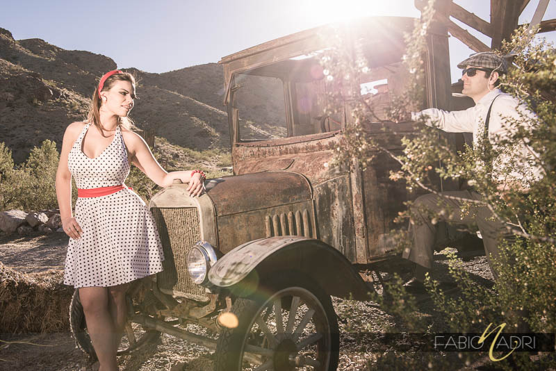 Nelson Pin up engagement session