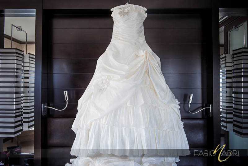 Christina Wu draped gown