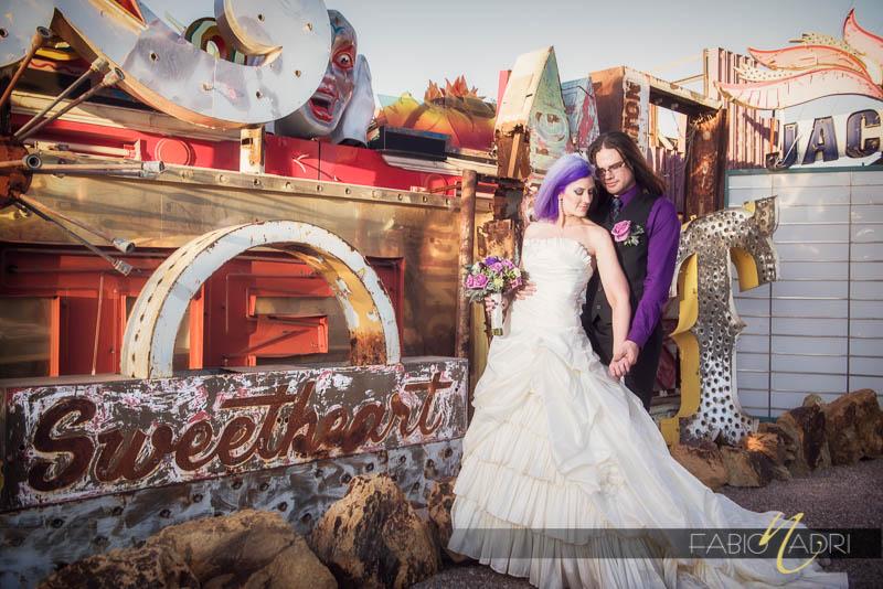 Neon Museum Wedding Teresa Amp Nate