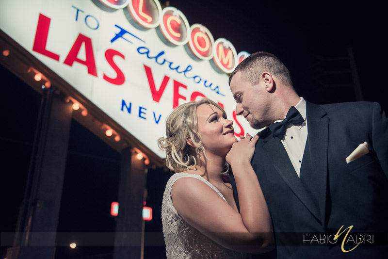 Las Vegas wedding photo