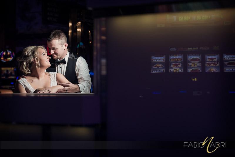 bride groom photo las vegas casino