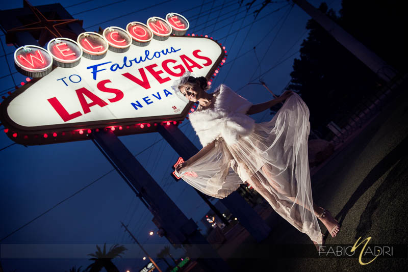 Bride Las Vegas Sign