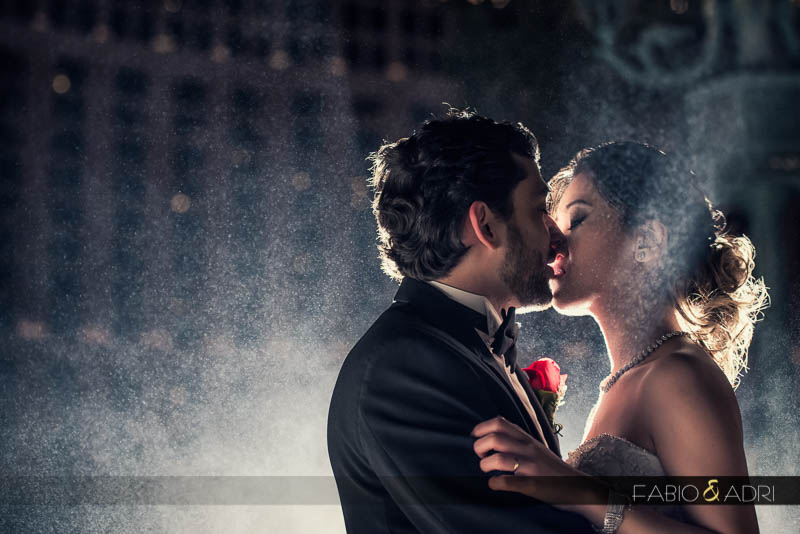 Bride groom kiss photo