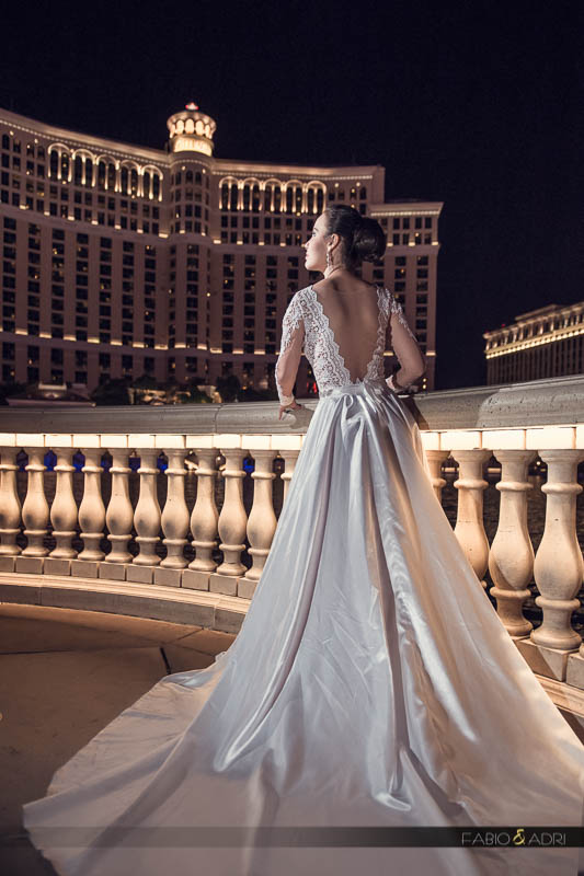 bridal gown bellagio las vegas