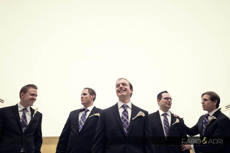 Groom groomsmen photo Aria