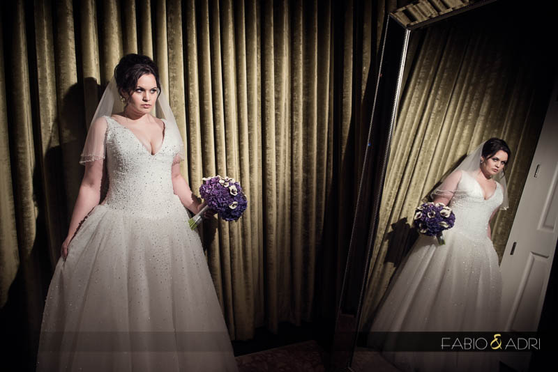 Bride photo Aria wedding suite