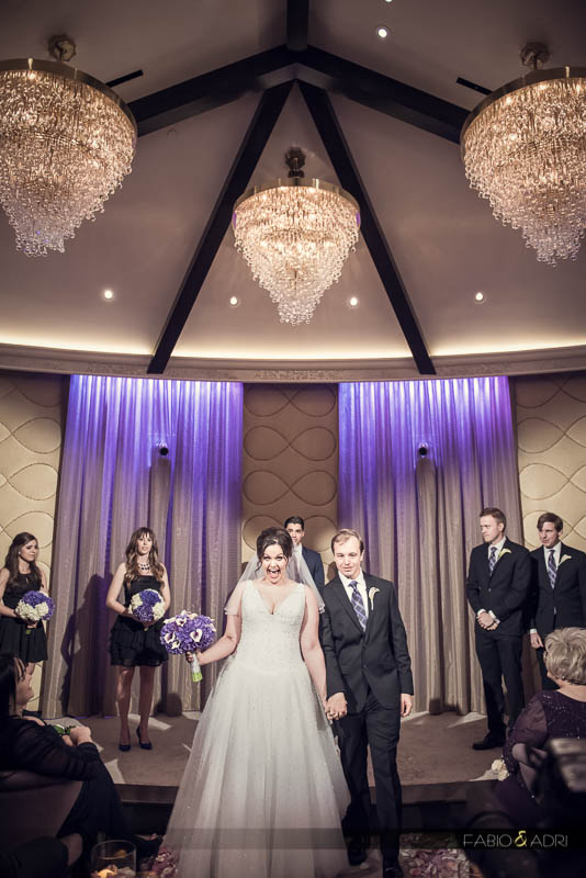 bride groom processional celebration Aria