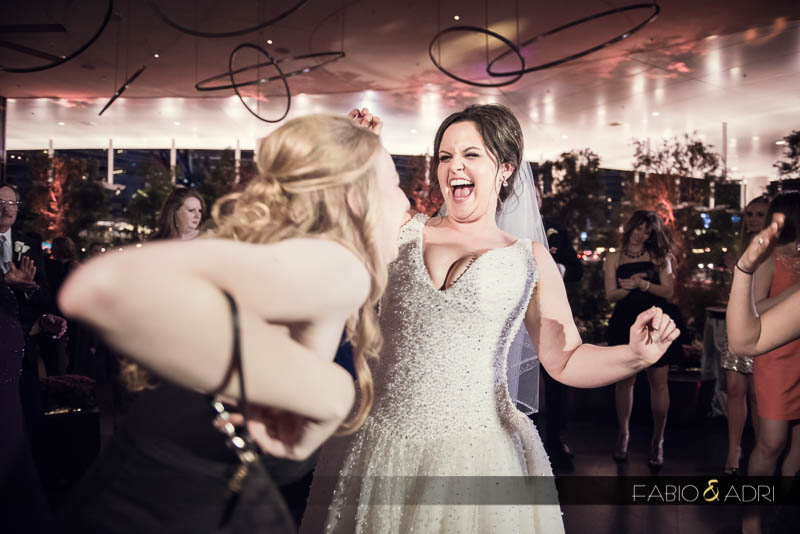bride dancing Vice Versa Vdara