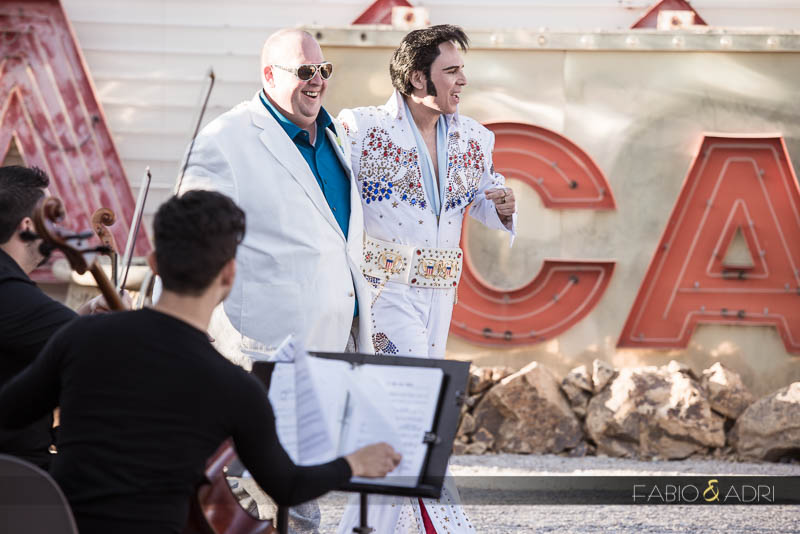 Elvis officiant neon boneyard