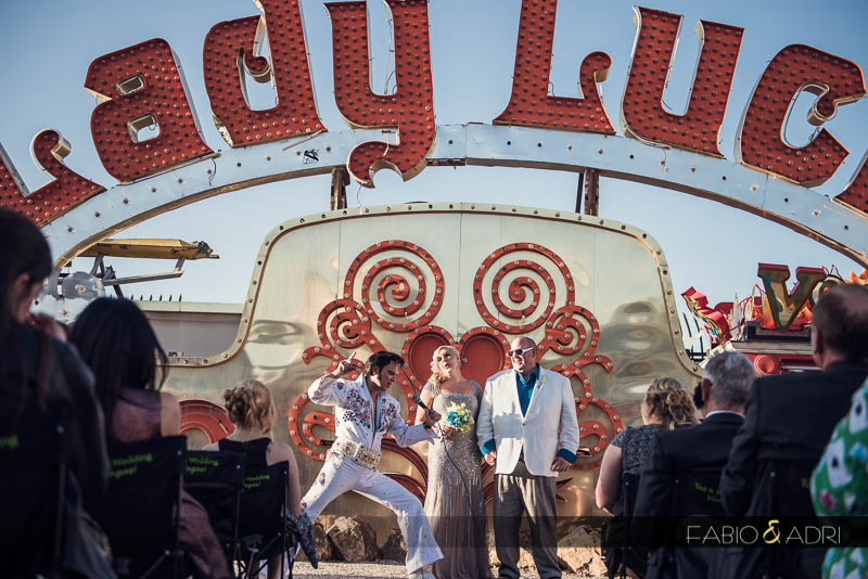 neon museum ceremony Elvis