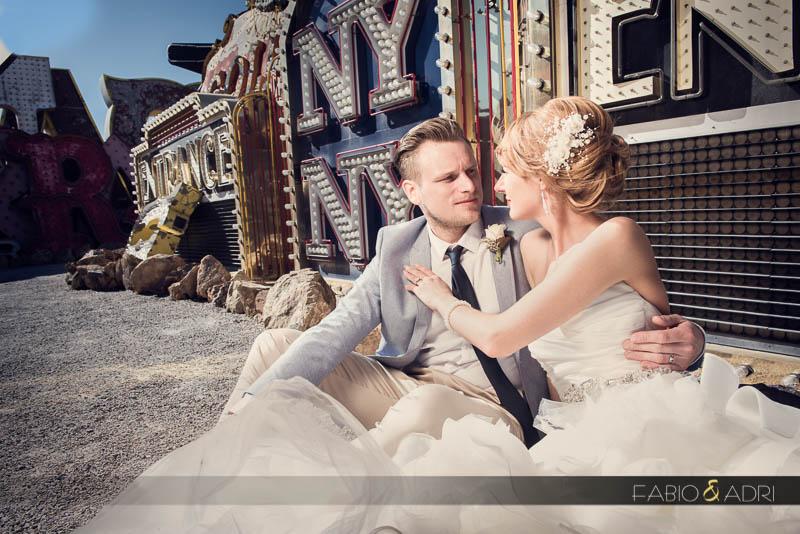 Neon Museum Wedding Photography