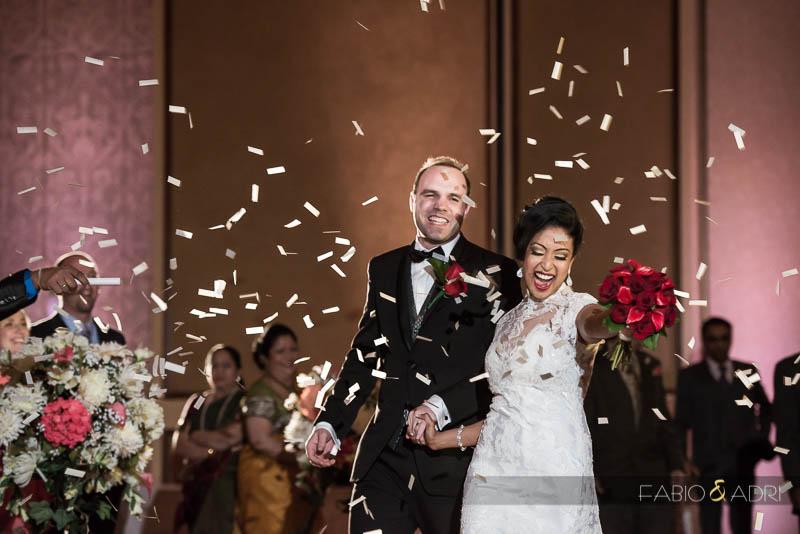 Las Vegas Wedding Grand Entrance Confetti
