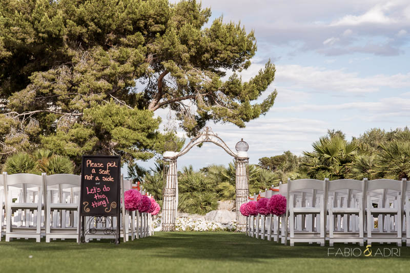 Ceremony Site Las Vegas Country Club