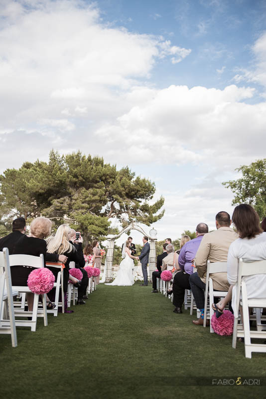 Ceremony LAs Vegas Country Club
