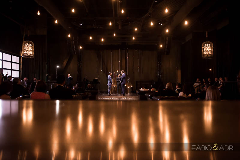 SLS Las Vegas Sayers Club Wedding Ceremony