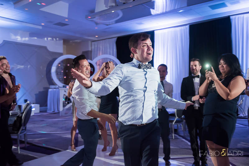 SLS Las Vegas Wedding Dance Party