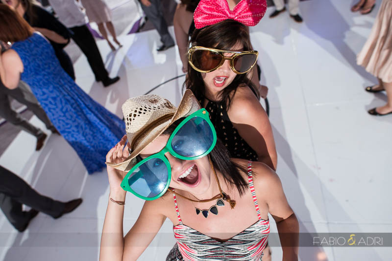SLS Las Vegas Wedding Fun Props