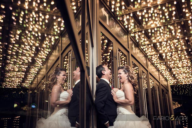 Plaza Las Vegas Wedding Photographer Lights