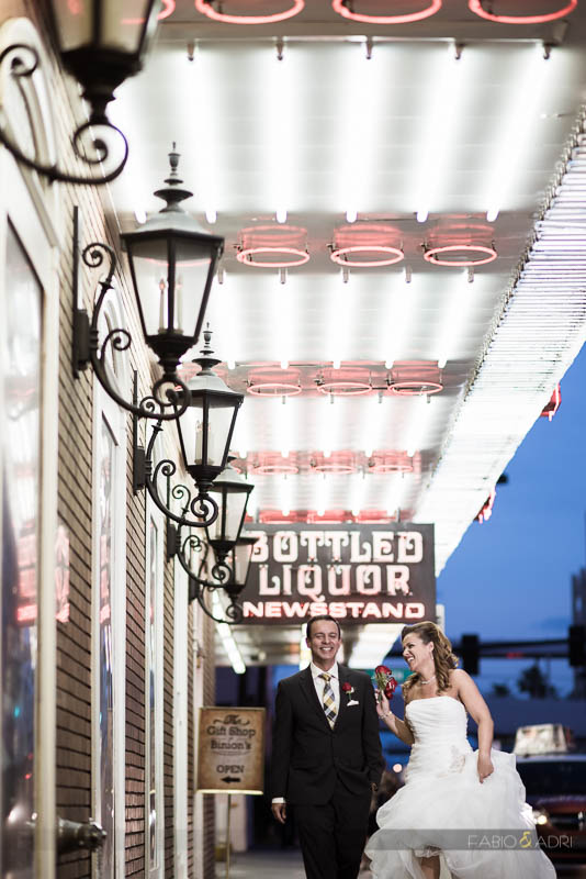Downtown Las Vegas Wedding Vow Renewal Fremont