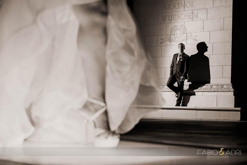 Las Vegas Strip Wedding Vow Renewal Photo