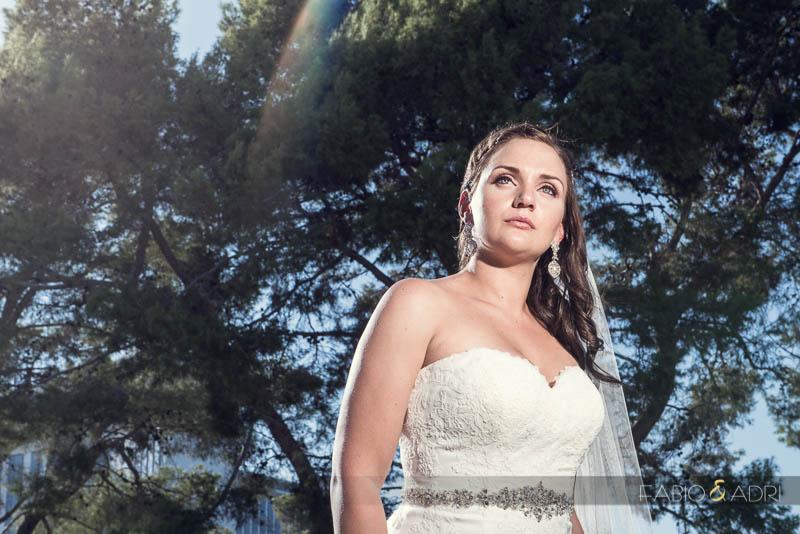 Las Vegas Country Club Wedding Photographer Bride