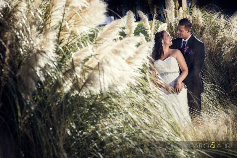 Las Vegas Country Club Wedding Photographer Bride Groom Portrait