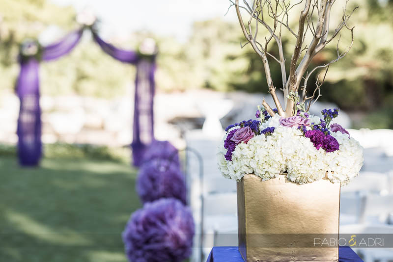 Las Vegas Country Club Wedding Photographer Ceremony Site