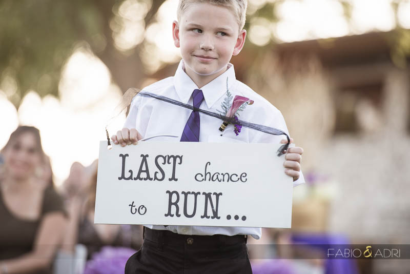 Las Vegas Country Club Wedding Photographer Ring Boy